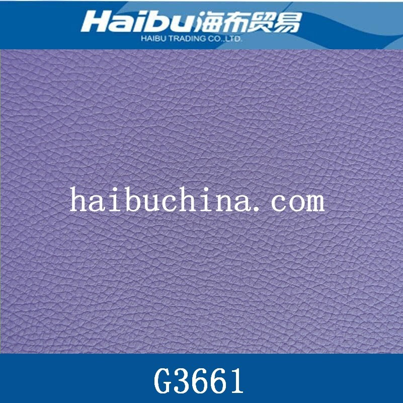 Embossed surface design PVC artificial leather for car Seat&sofa